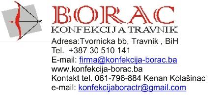 Borac konfekcija Travnik
